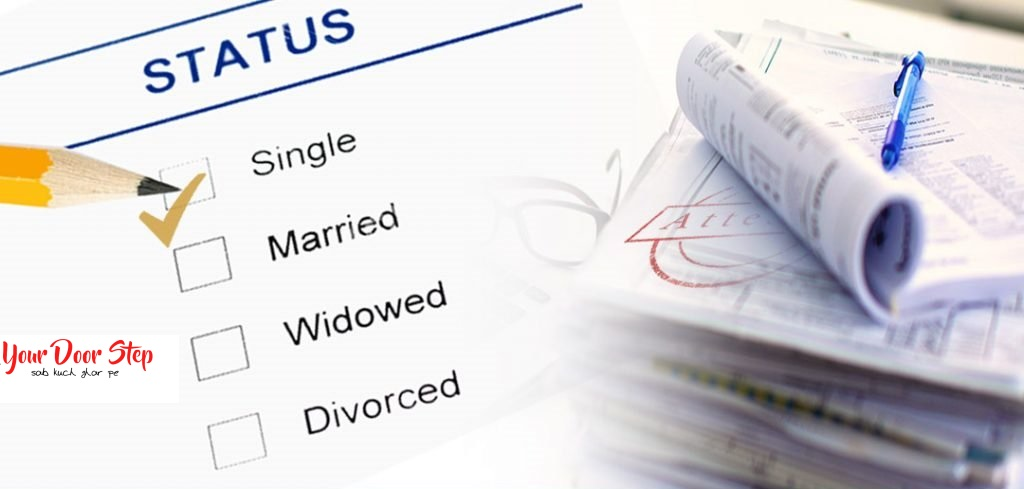 single status certificate in bagalkot