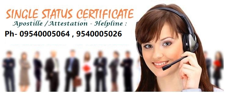 How to get single status certificate in India